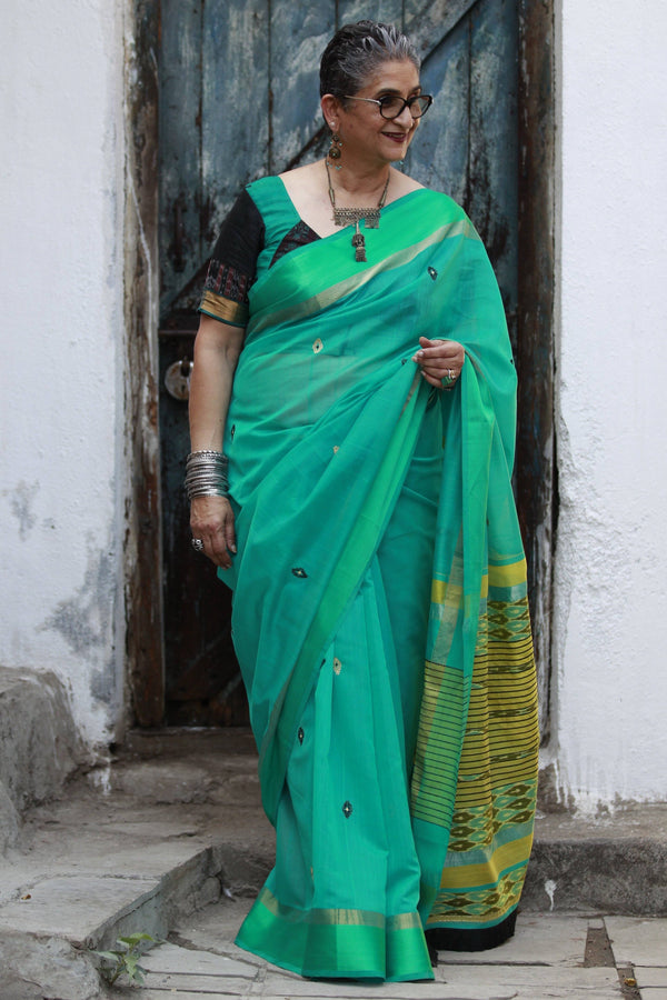 Colours of Maheshwar - Sea Green