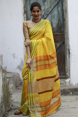 Colours of Maheshwar - Sunflower Yellow