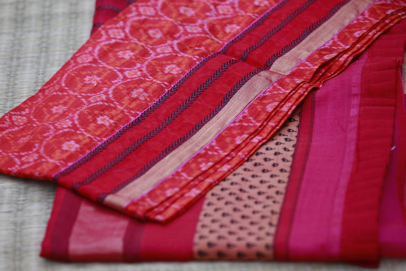 Colours of Maheshwar - Watermelon Pink