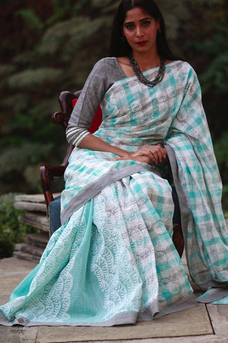 The Ice Cool Saree