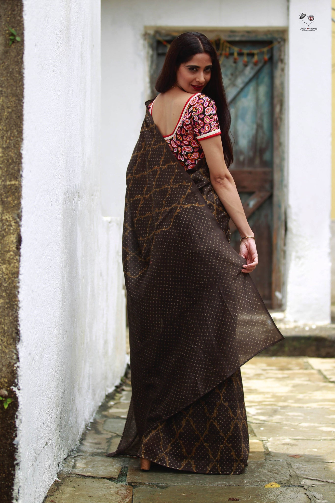 Kashish 3 Block Print Silk Cotton Chanderi Saree