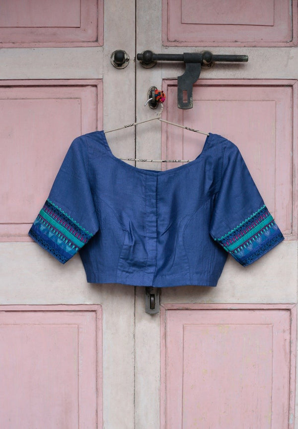 Mangala Blouse - Cornflower Blue 2