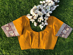 Nur Jehan Blouse - Turmeric Yellow