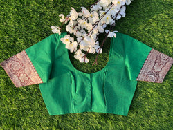 Nur Jehan Blouse - Bangle Green