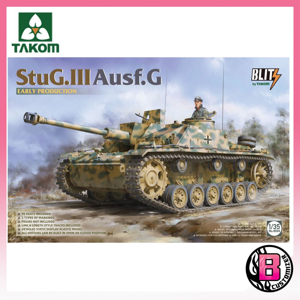 Takom 1/35 StuG.III Ausf.G Early production (8004)