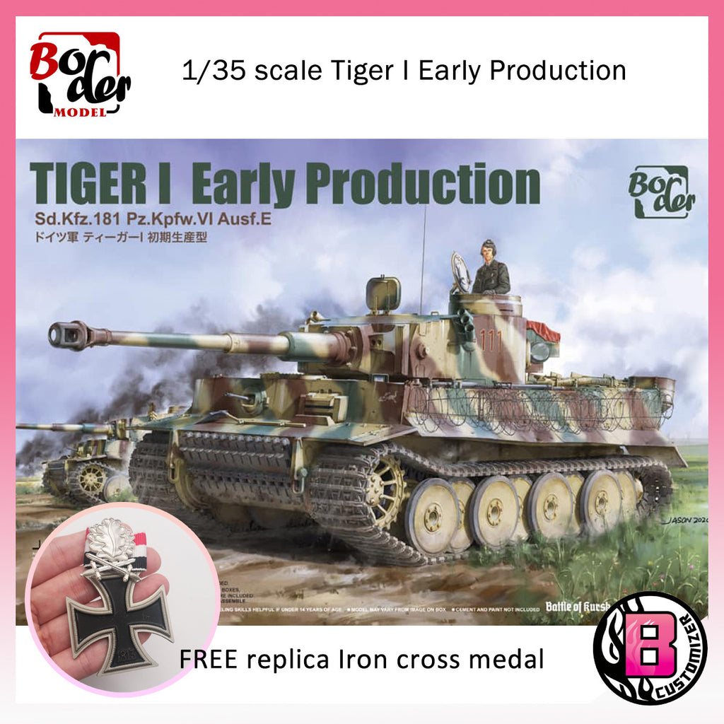 Border Model 1/35 scale Tiger I Early Production (BT-010)