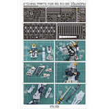 AW9 S03 RG Nu Gundam Photo etch upgrade part