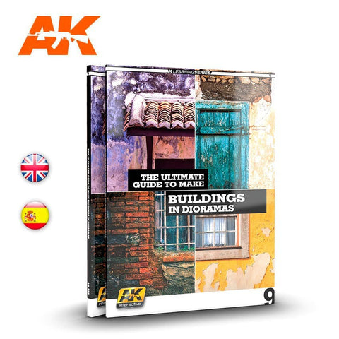 AK 256 The Ultimate Guide to Making Buildings in Dioramas Book AK Interactive