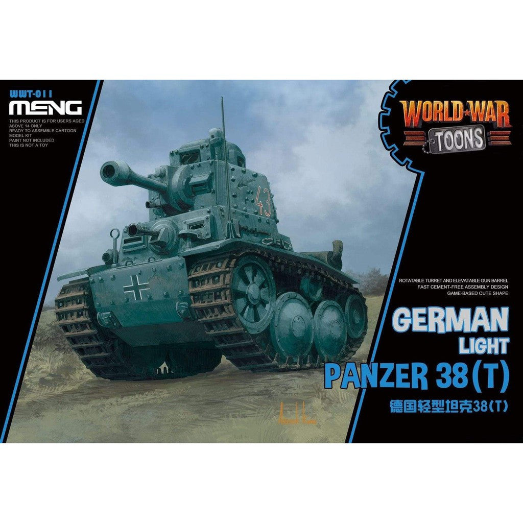 Meng World War Toons WWT-011: German Light Panzer 38(T)