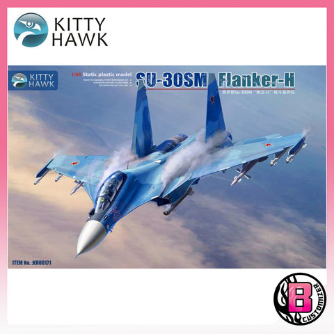 "Kitty Hawk 1/48 Su-30 SM ""Flanker-H"" (KH80171)"