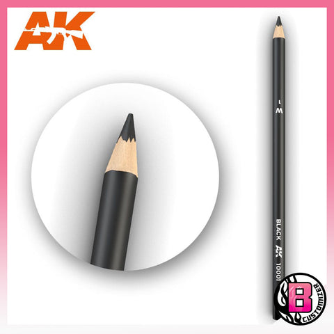 AK10001 Black (weathering pencil)