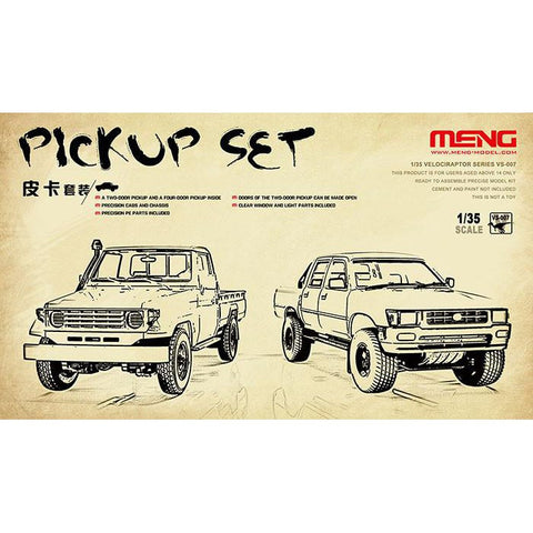 Meng 1/35 Pickup set