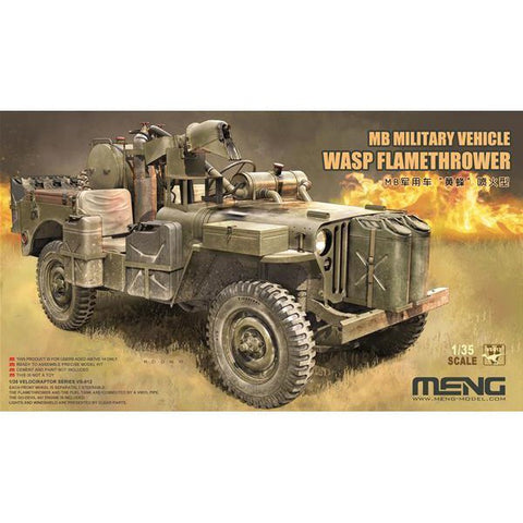 Meng 1/35 WASP Flamethrower Jeep