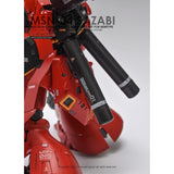 G-Rework RG 1/144 Sazabi custom design water decal