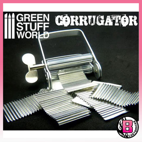 Green Stuff World Corrugater and Flexible tin foil