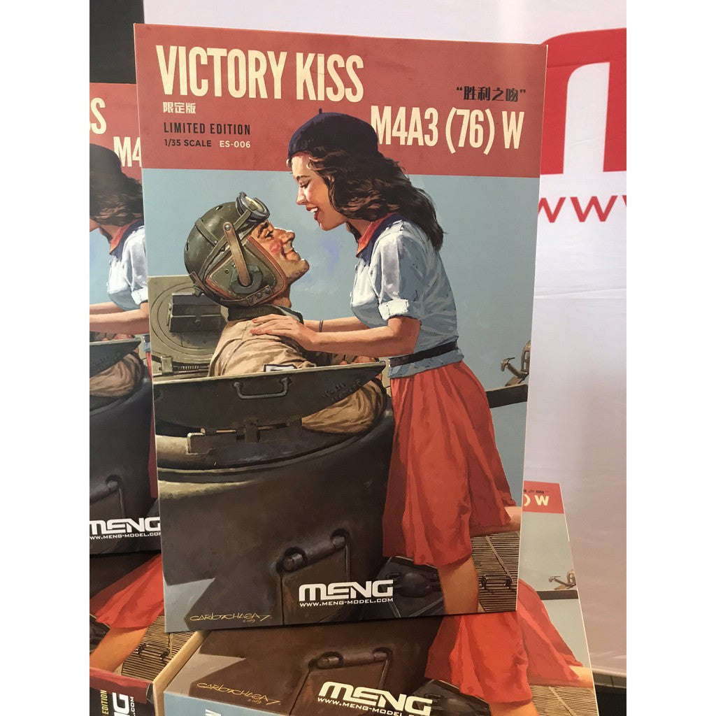 Meng 1/35 Victory Kiss M4A3 (76) Limited Edition
