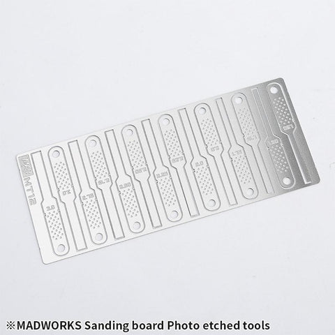 Madworks MT12 Sanding Board Photo-Etch