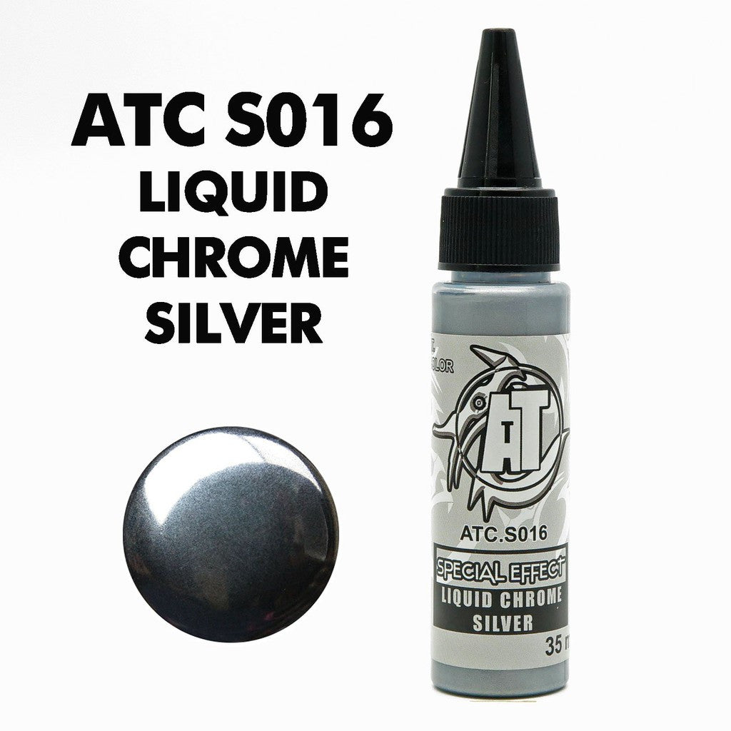 AT Color S016 Liquid Chrome Silver