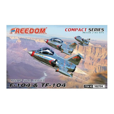 Freedom Compact series star fighter USAF F-104/F104