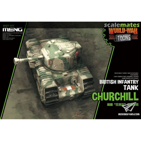 Meng World War Toons WWT-017: British Infantry Tank Churchill