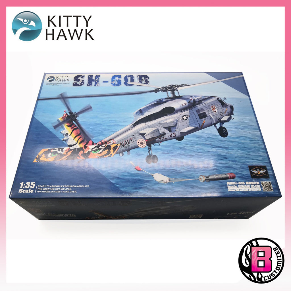 "Kitty Hawk 1/35 SH-60B ""Seahawk"" (KH50009)"