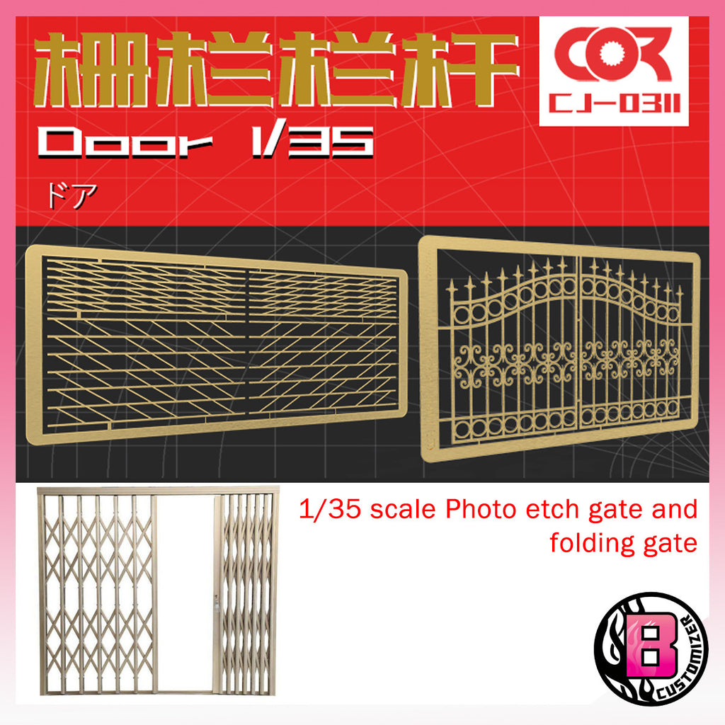 CORMAKE 1/35 Gate and folded gate