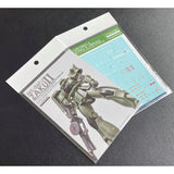 G-Rework Zaku II custom design water decal