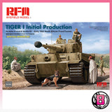 Ryefield Model 1/35 Tiger I Initial Production (with full interior kit) (5050)