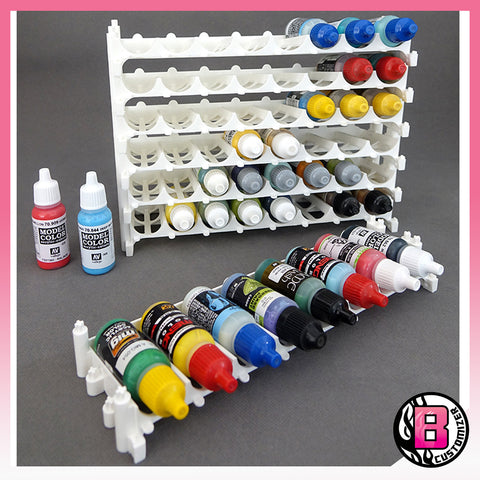 Yi Model Acrylic Paint rack (AK, Ammo, Vallejo 17ml bottle)
