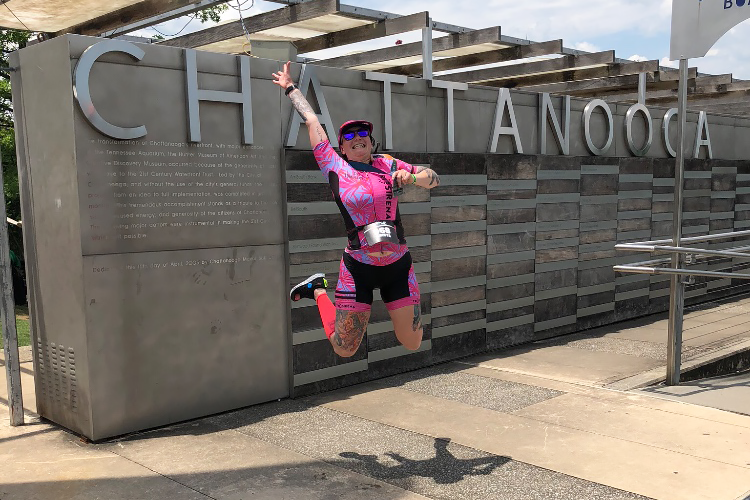 Hop Onboard! Ironman Chattanooga 70.3