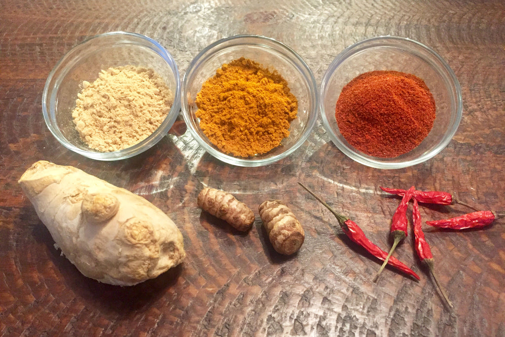 Three Spices to Warm You Up and Improve Your Health