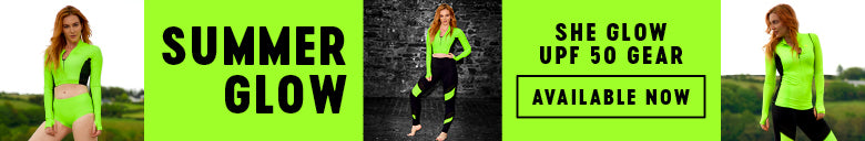 Women's High Visibility UPF50 Athletic Clothing