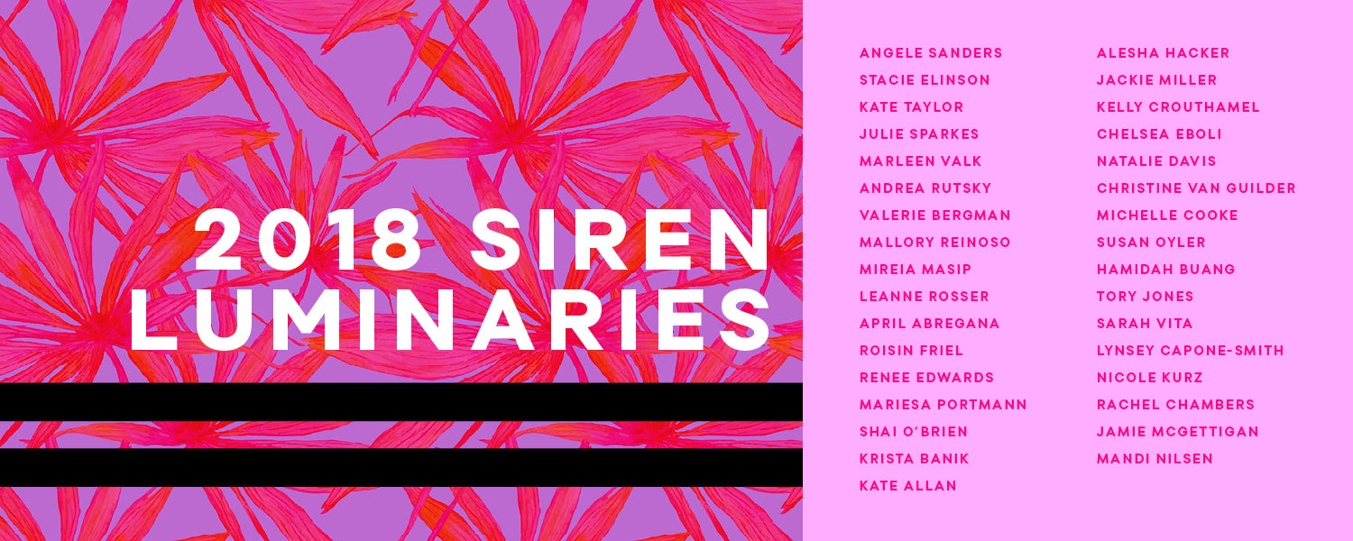 2018 Siren Luminary Web Banner