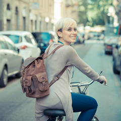 biking to work increases mental and physical health