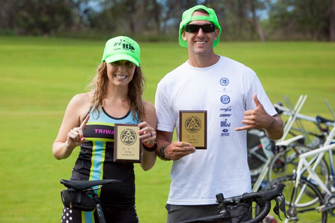 couple-finish-HIM-triathlon-first-place-age-group