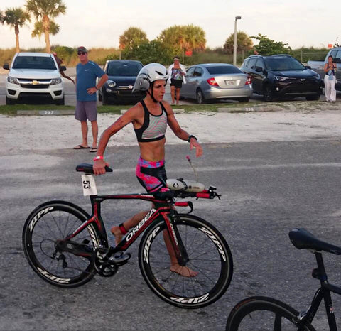 Rachel Chambers Englewood Triathlon bike draft legal