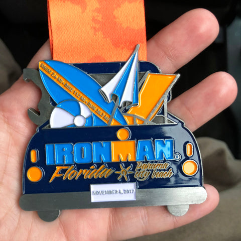 ironman florida medal panama city 2017