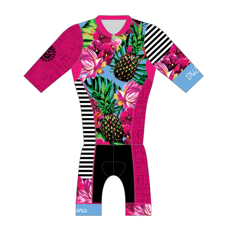 Women's 2017 Kona One Piece Aero Triathlon Suit