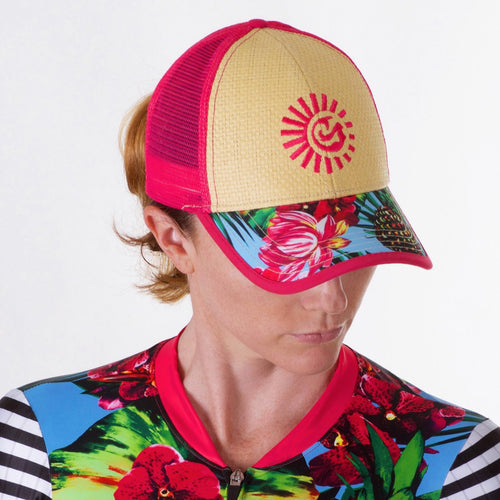Super Cute Kona Inspired Sun Protective Technical Trucker