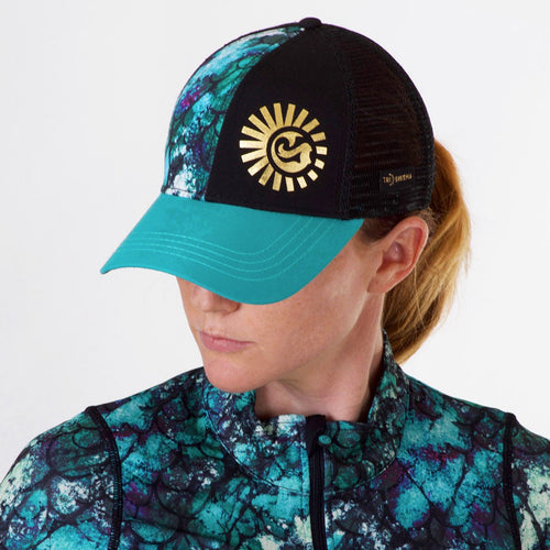 Midnight Mermaid Women's Technical Trucker Performance Hat