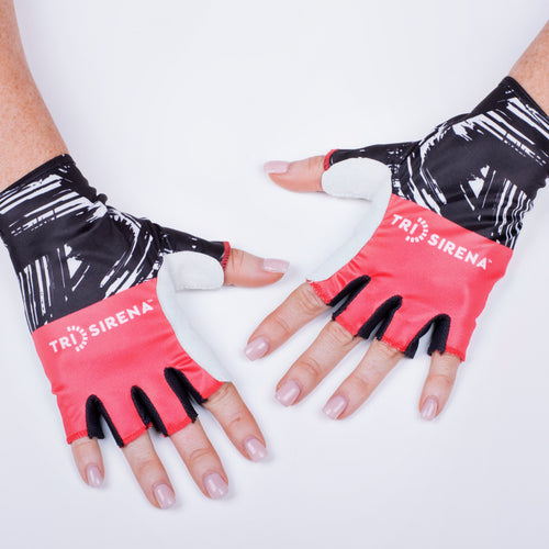 Cute Women's Cycle Gloves Sun Protective and Moisture Wicking