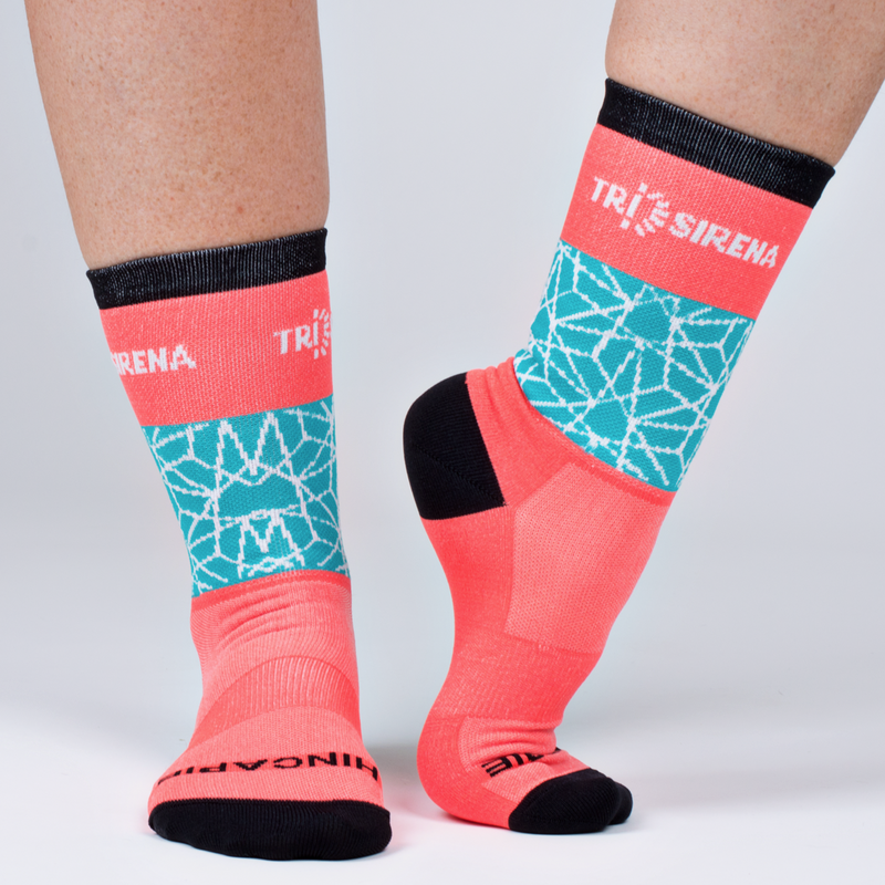Cute Thin Women's Cycle Socks with Moisture Control