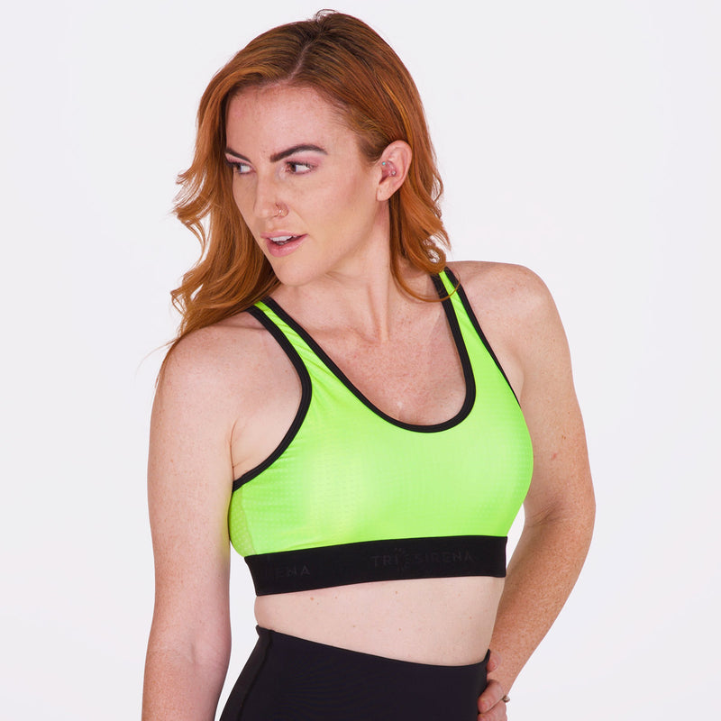 Women's High Visibility Sports Bra