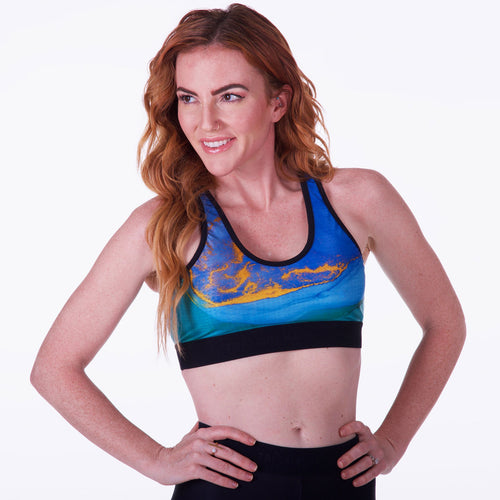 Cute Sexy Women's Sports Bra for Running, Yoga, Training, Racing, and More!