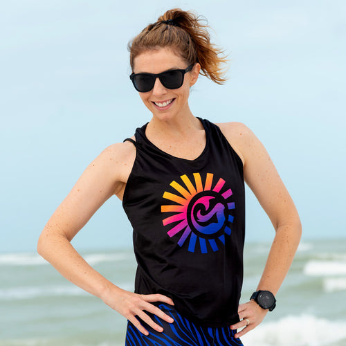 Sunset Safari UPF 35+ Racerback Tank