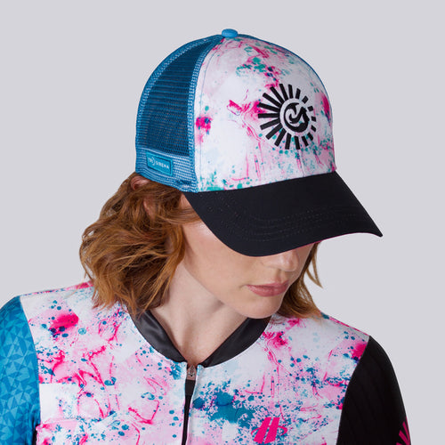 Pink Pedal Pusher Technical Trucker
