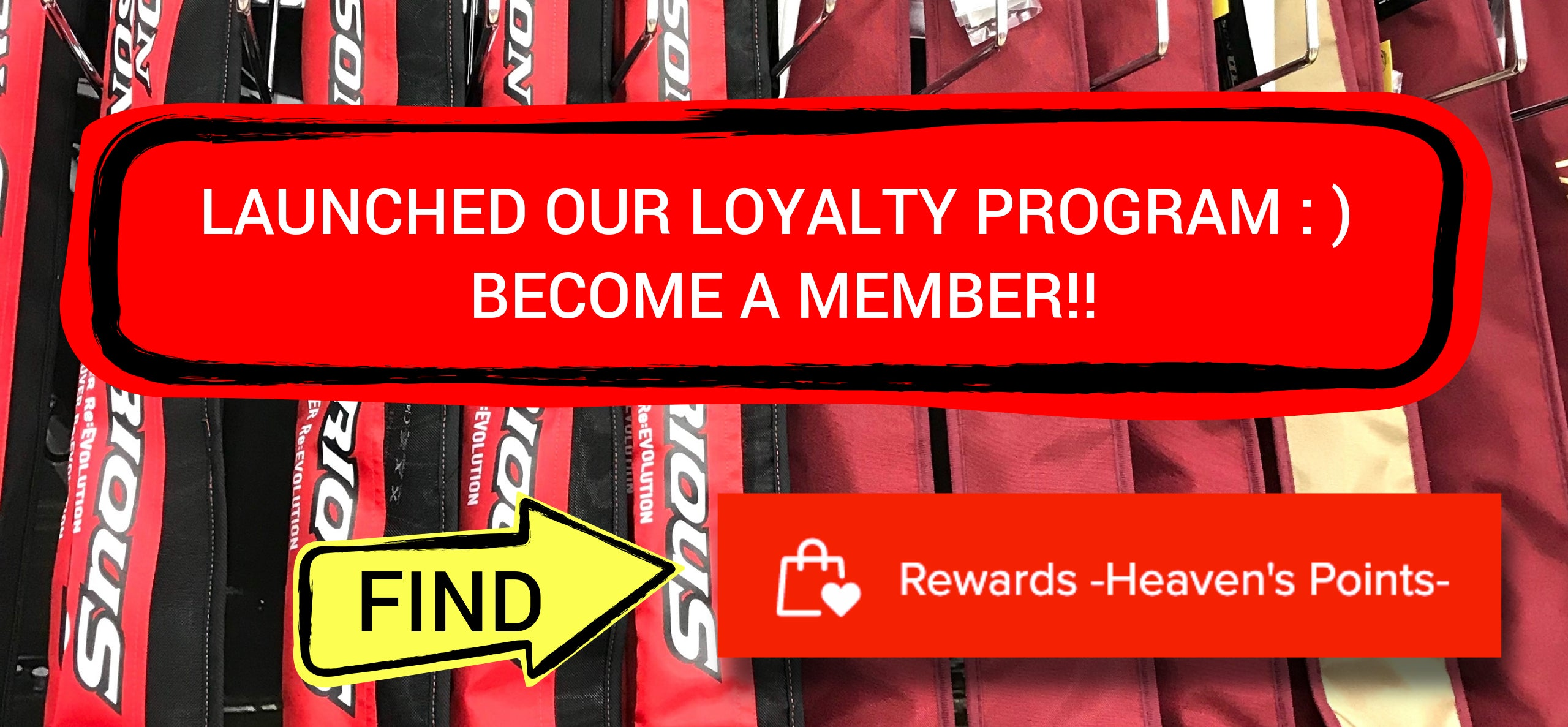 Loyalty Program - Earn Heaven's Points -