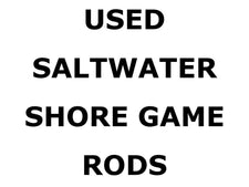Used Saltwater Shore Game Rods
