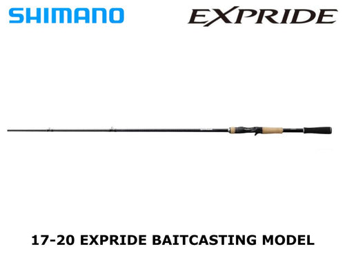 Shimano 20 Expride Fast Moving & Big Bait 165MH-LM