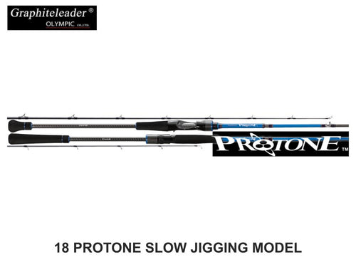 Graphiteleader/Olympic 18 Protone Slow Jigging Model GPTC-632-3